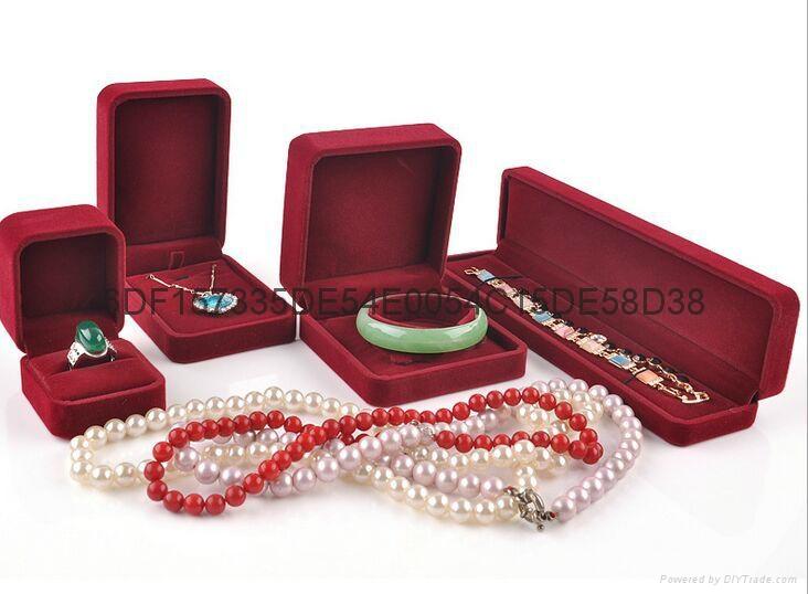高檔絨布珠寶首飾盒 2