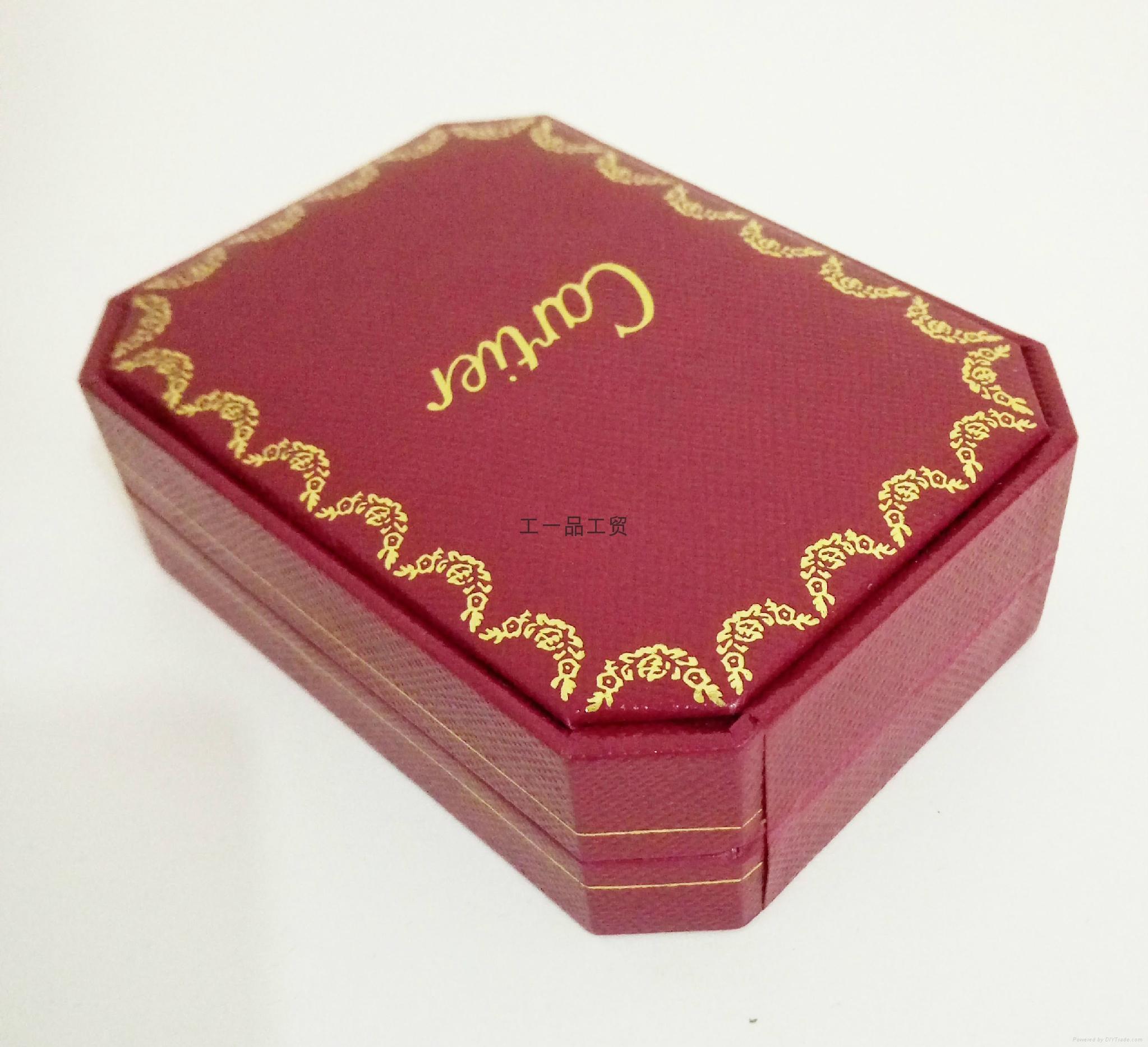 卡家同款进口特种纸八角首饰盒 5