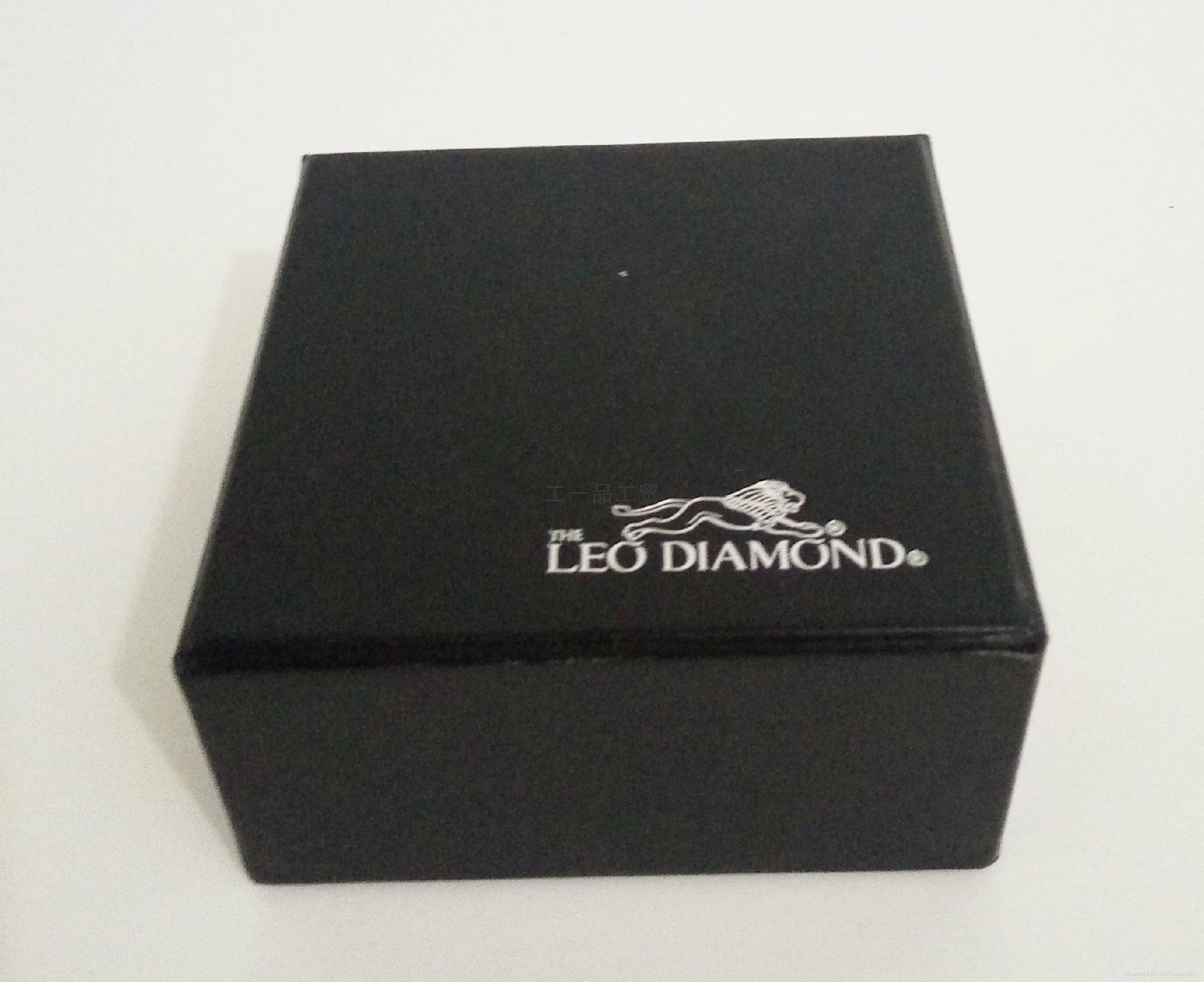 韓式高檔LED拉絲紋珠寶盒 5
