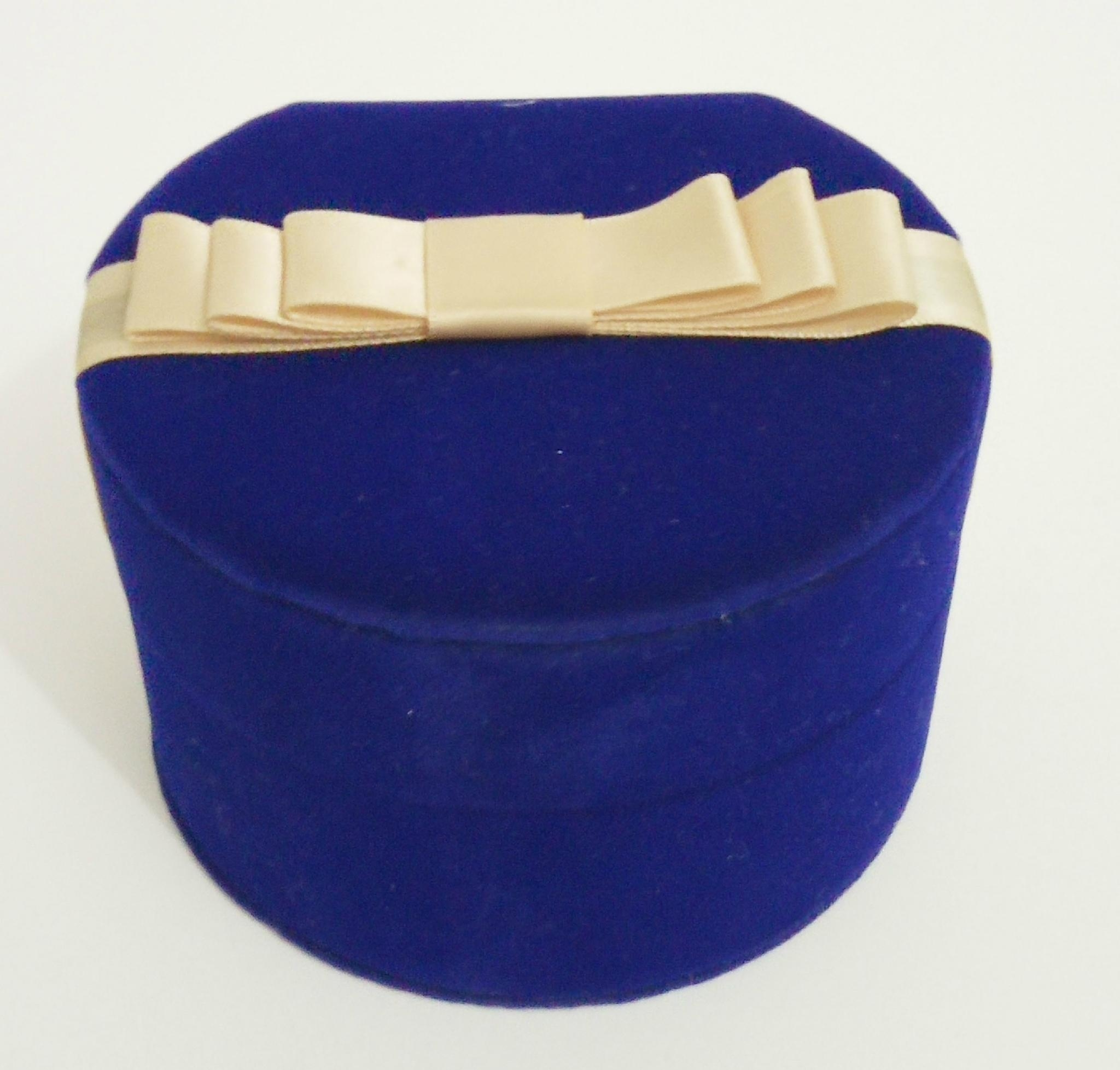 圓形套裝進口長毛絨珠寶盒禮品盒 1