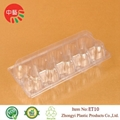 clear disposable plastic clamshell egg tray 2