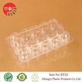 clear plastic clamshell egg packaging