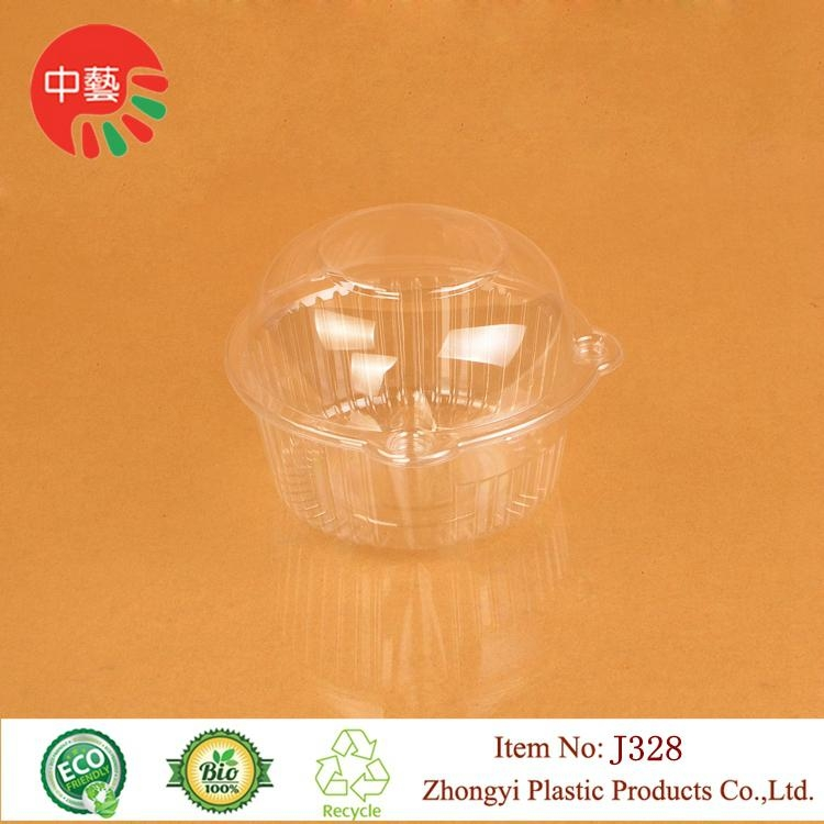 takeaway disposable blister plastic food container with lid 1