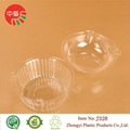 takeaway disposable blister plastic food container with lid 2