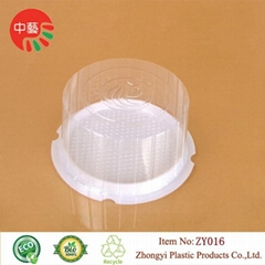 clear plastic cheese cake dome containers