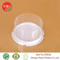 clear disposable plastic cake dome containers 3