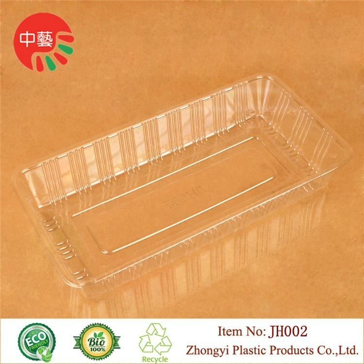 clear food grade plastic tray for baking 2