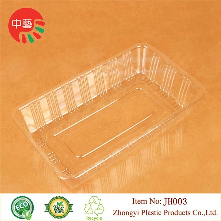 clear food grade plastic tray for baking 3