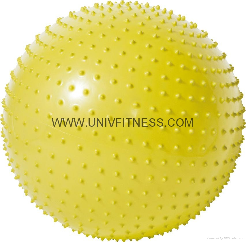 Exercise with 65cm swiss ball crunch, best gymball for pregnancy and birthing 4