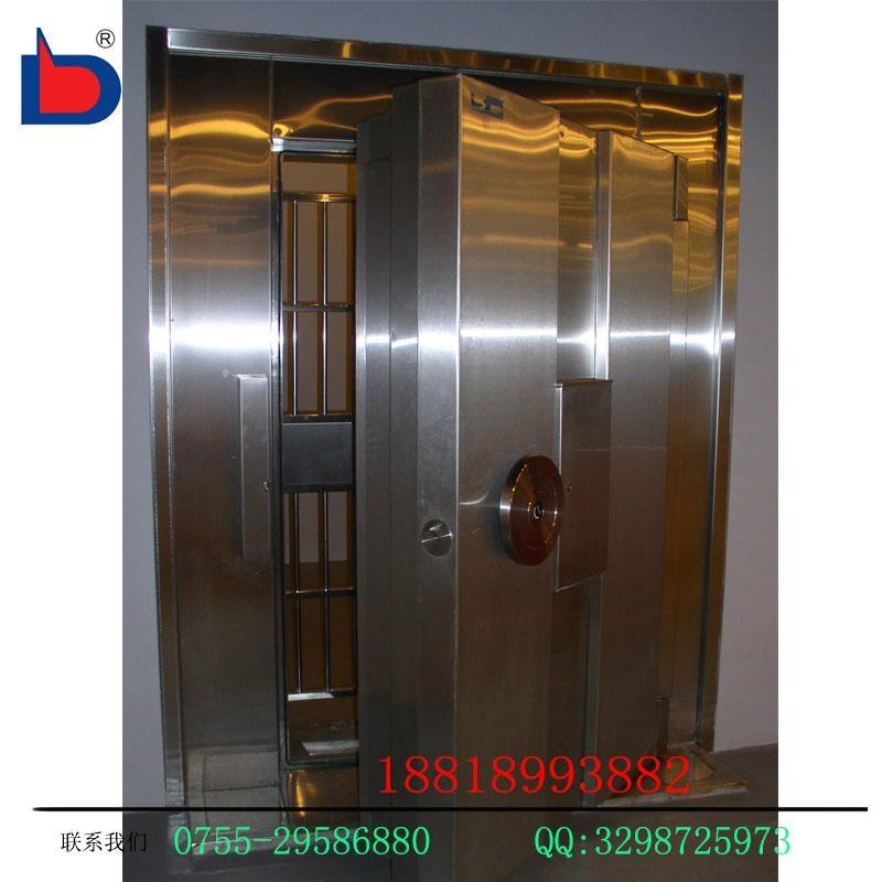 專業生產不鏽鋼金庫門銀行專用可定做 4