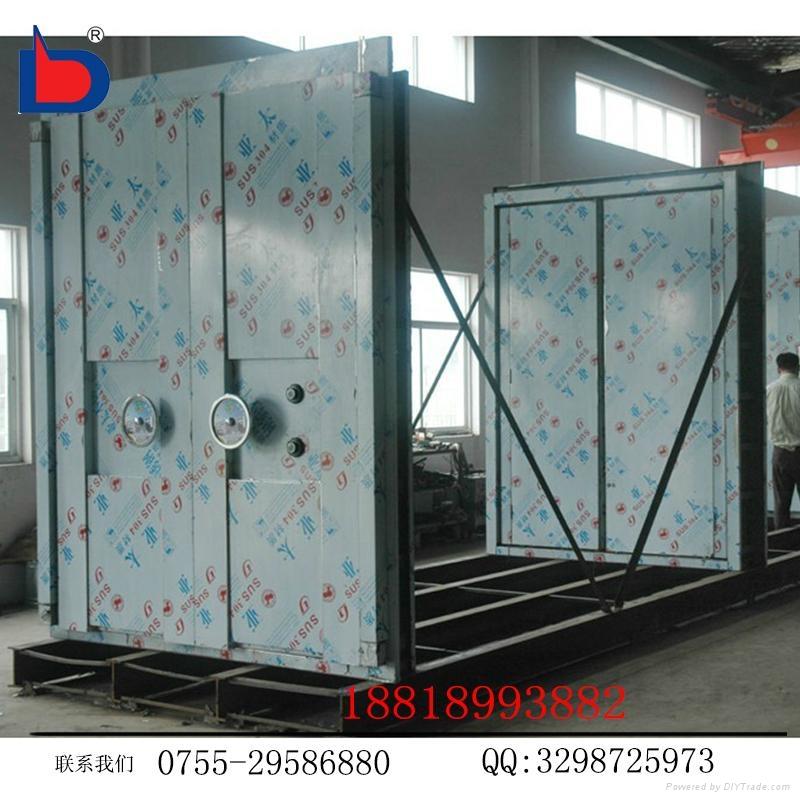 專業廠家生產三鎖聯動不鏽鋼銀行金庫門 5