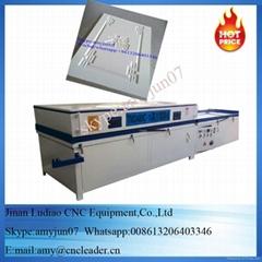 wood door PVC film vacuum laminating press machine veneer vacuum membrane press