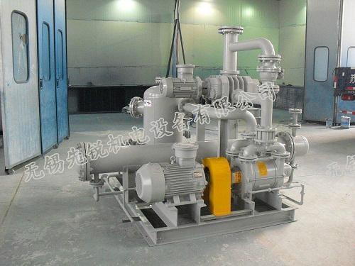 真空蒸馏蒸发脱水结晶聚合反应用泵罗茨水环真空机组 1