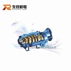 可處理有毒有腐蝕和可凝性氣體韓國KOWEL變螺距干式螺杆真空泵
