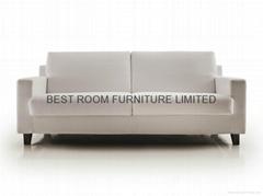 fashion creative sofa leather sofa tuffed upholstered fabric sofa leisure sofa