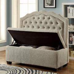 Resturant high back sofa storage sofa nails decor fabric sofa  full-tuffed sofa