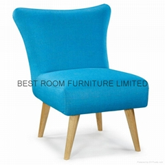 6 Colorfull leisure chairs France style chairs creative fabric  accent  chairs