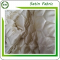 Customize design Quilted satin fabric for bed sheet and winter coat 4