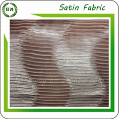 Polyester Crepe satin for pillow case and dress