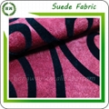 Wholesale Flocking microfiber faux suede fabric design for sofa and pillow 1