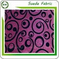 Wholesale Flocking microfiber faux suede fabric design for sofa and pillow 3