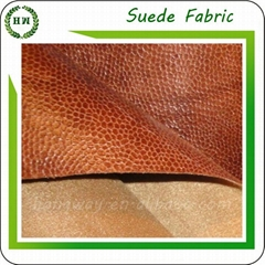 microfiber faux super absorbent suede fabric bronzed suede leather fabric