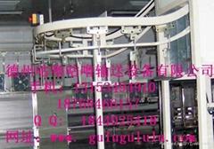 Hanging chain conveyor