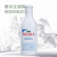 进口牛奶沐浴乳批发 牛奶补水增白滋润多效合一