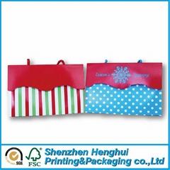 Handbag with printing customized carton