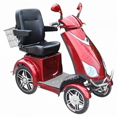 Four Wheel Disabled Electric Mobility Scooter for Elder People