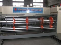 chain feeding  corrugated printer slotter diecutter machine