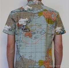 大连外贸库存美国潮牌衬衫