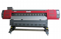 1800 mm Eco-solvent Large format printer with variable dot printing technology