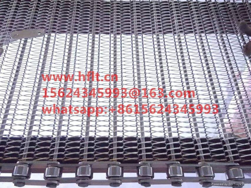 wire mesh belt with chain 1
