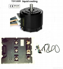96v 10KW electric bldc motor kit for car,motorcycle,boat,go carts