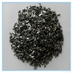 Iron grit for polishing