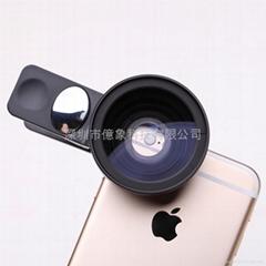手機通用37MM單反廣角微距鏡頭