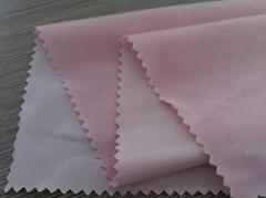 laminated fabric (knit fabric laminating white TPU)