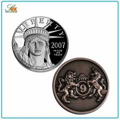High Quality Cheap Antique Metal USA Souvenir Old Coins