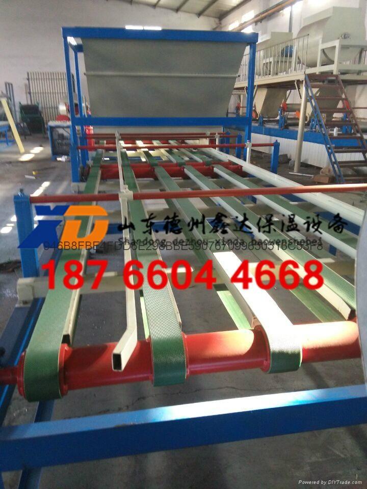 菱镁发泡门芯板生产线 珍珠岩防火门芯板设备鑫达厂家直销 4