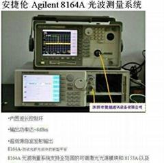 供應光波測量系統Agilent8164A