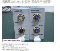 供應雙光功率傳感器Agilent81635A