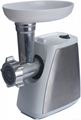 meat mincer with stainless steel board