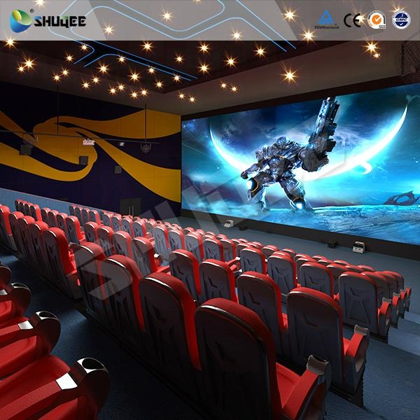 Factory Price 3D 4D 5D 7D movie cinema with high quality comfortable chairs 2