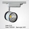 LED track light 15/20/30W