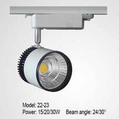 LED track light 15/20/30W