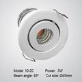 Under cabinet LED spotlight