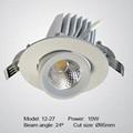 355 degrees adjustable LED down light