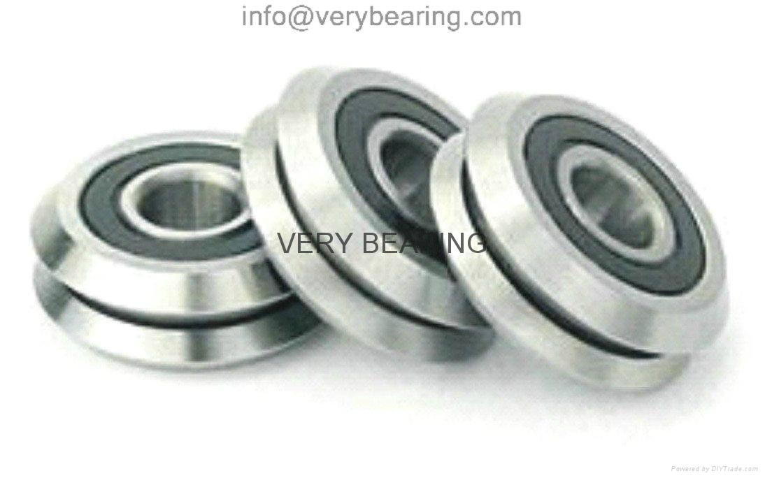 W3X size12×45.72×15.88mm Dual V Guide Wheel,V Groove Track Roller Bearings made  1