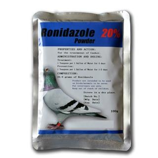 Best Price Antibiotics Pigeon Racing Medicine 20% Ronidazol Powder 1